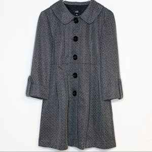 AGB Gray Patterned Woman's Jacket